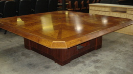 8' Square Conference Table