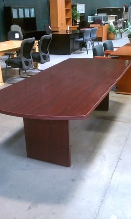 8' High Gloss Finish Conference Tables