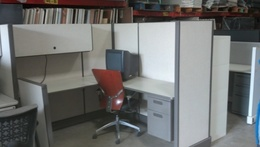 "Herman Miller AO2 67"" H Workstation"