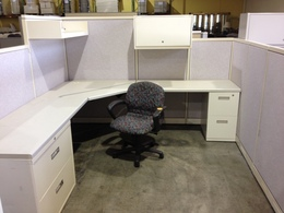 Steelcase Avenir Workstations in St. Louis