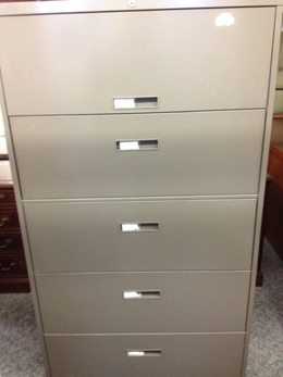 STEELCASE 5 DRAWER 36