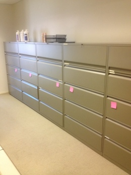 Knoll 5 Drawer Lateral Files