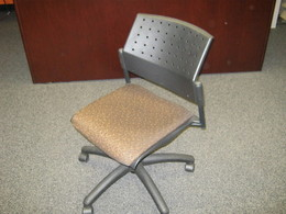Global Training Room Chair Tan