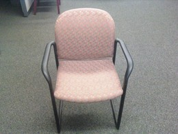 Gunlocke Side Chair with arms