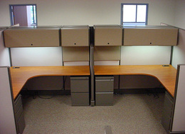 Refurbished Herman Miller Cubicles