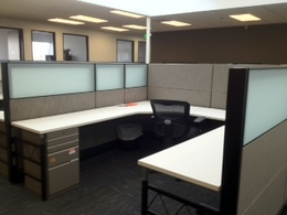 Modern Office Furniture with Glass