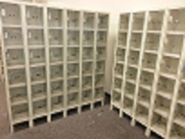 18 Unit Lockers