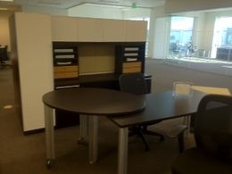 New U Group Laminate Desks