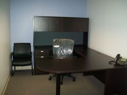 Executive Laminate U-Shaped Desks
