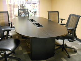 Used 8ft conference table w/ power