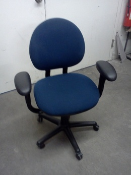 Steelcase Mid Back Criterion Dark Blue