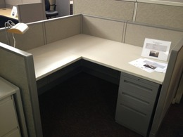Used cubicles with 42