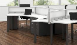 Modern Office Furniture Benching in Bay Area