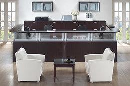 Double Reception Desk