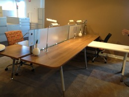 Modern Office Furniture Benching in SF