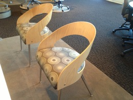 New Global Side Chairs and Stacking chairs