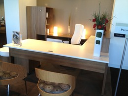 Modern Office Desks in Veneer in San Fran