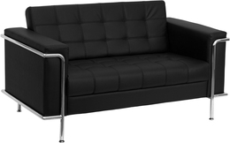 3 PIECE RECEPTION LEATHER SEATING