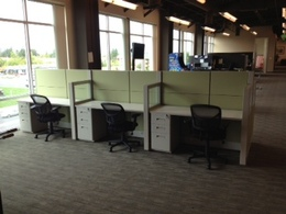Friant Touchdown Call Center Workstations