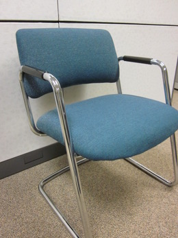 Chrome Sled Base Guest Chairs
