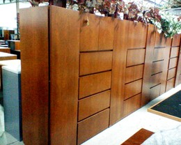 "Wood 4 Drawer 30"" Lateral file with Storage"