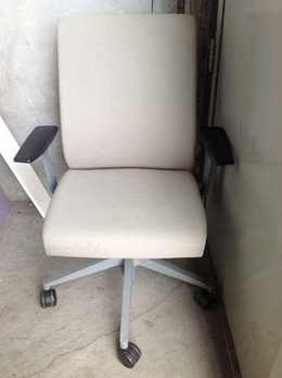 Used Steelcase Think Beige Office Chair