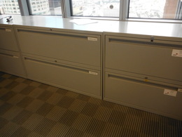 Two drawer 36'' lateral file