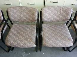 Steelcase Sled Base Guest chairs