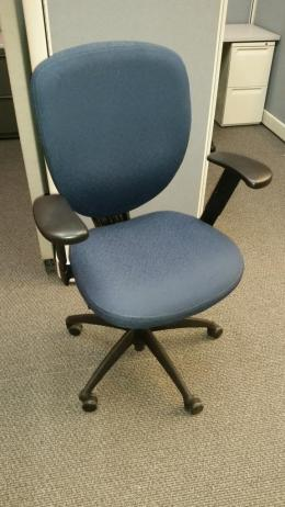 Kimball Cal-133 Task Chair Blue