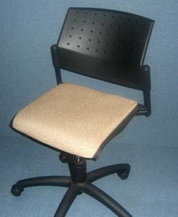 Global Training Room Chair Beige w/o arms