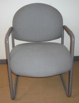 Steelcase Guest Chair - light gray