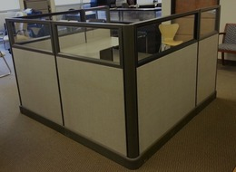 6x6 Glass Office Cubicles in Texas