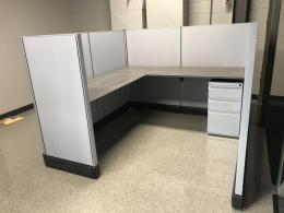 CUBICLES-VARIOUS MFGR'S/SIZES/MODELS