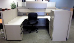Goergeous Knoll Cubicles with tons of Storage
