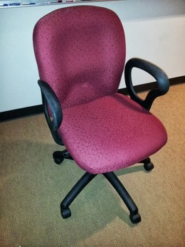 Global Seige Task Chair Red