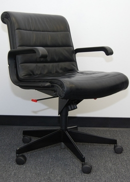 Knoll Sapper Executive Leather Chair