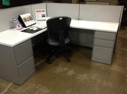 Refurbished Steelcase  Lshape and Benching