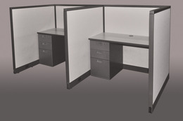 Used Call center cubicles- 4'x4'