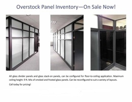 Glass Panels Overstock