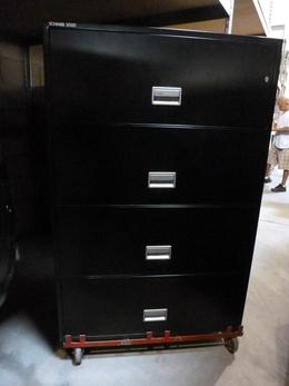Fireproof Four Drawer File