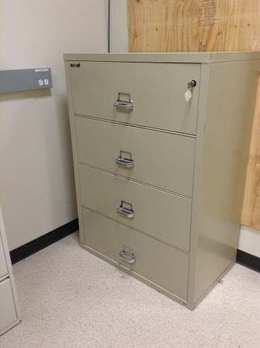 Fireking Lateral Fireproof Filing Cabinet