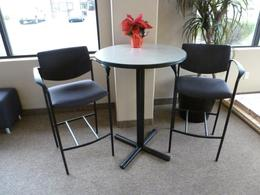 Steelcase Chairs and Table Set