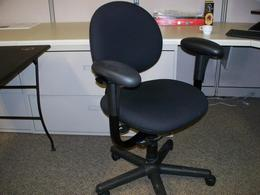 Black Steelcase Criterion Chairs