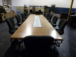 Touhy ConferenceTable & Power-Trough