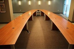 NIENKAMPER VOX 29' VIDEO CONFERENCING TABLE