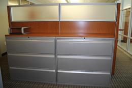 "Knoll Calibre 3 drawer 42"" lateral files"