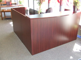NEW & PRE-OWNED RECEPTION DESKS