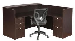 New Economical Laminate Reception Desk