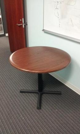 AIS Walnut Table Round