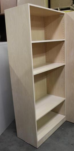 Bookcase-Blond Oak Laminate